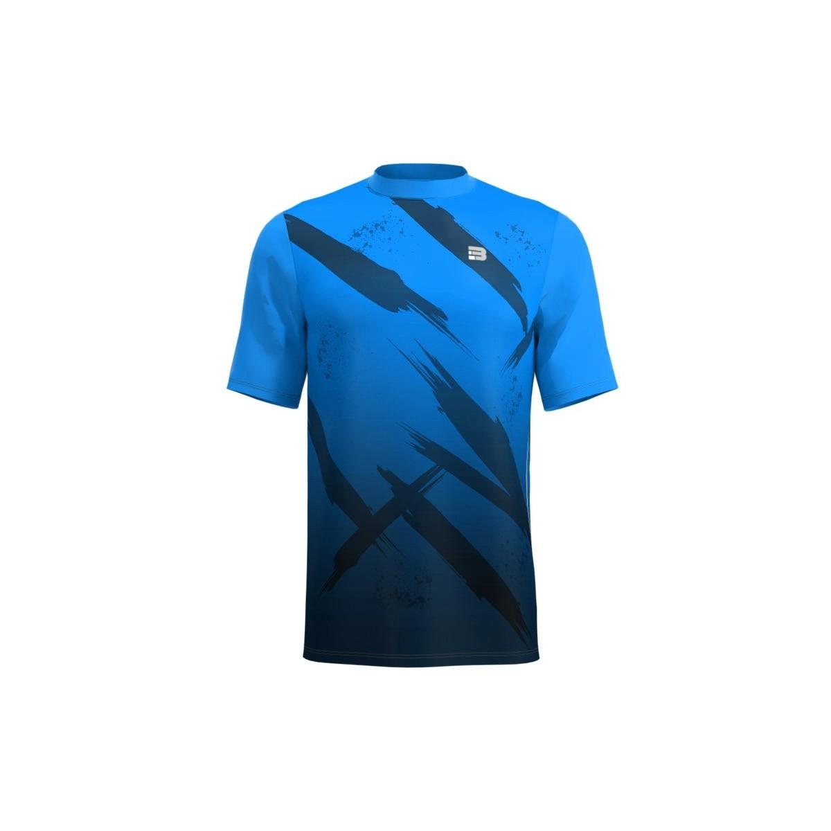 Maglietta Running Fight - Blu