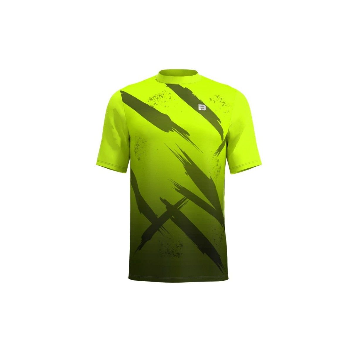Camiseta Running Fight - AMARILLO FLUOR