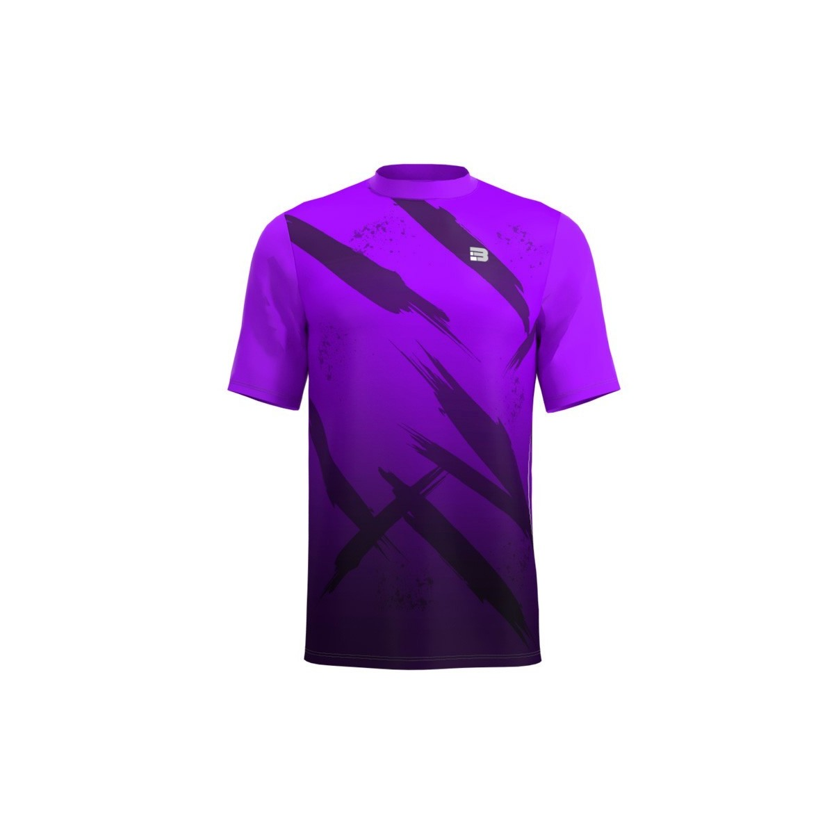 Camiseta Running Fight - Morado