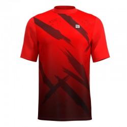Camiseta Running Fight - Rojo