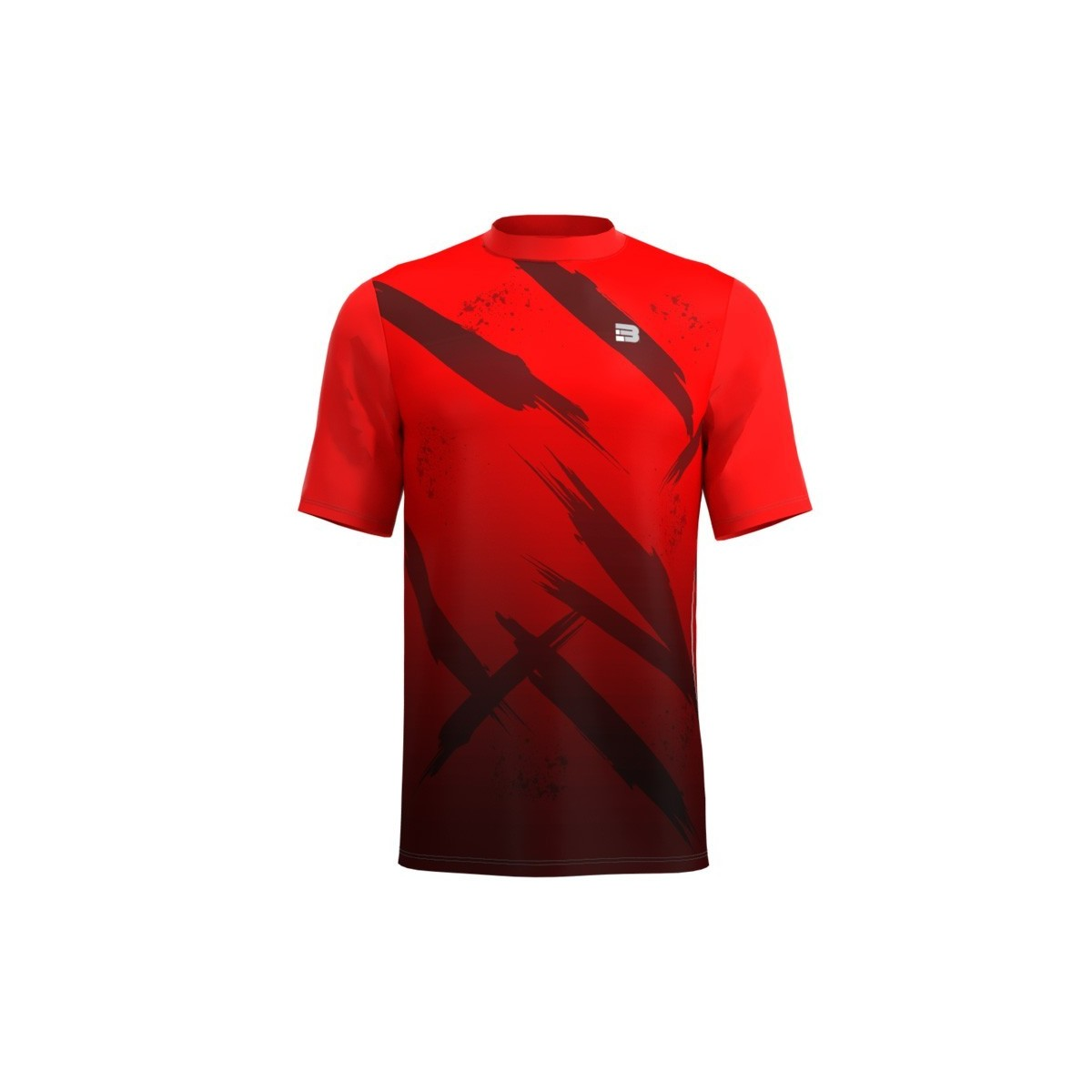 Camiseta Running Fight - Rojo