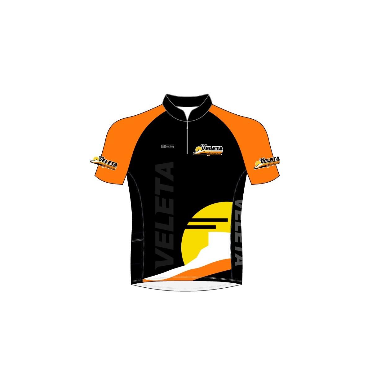 Camiseta De Bosque Club Veleta Hombre - Negro