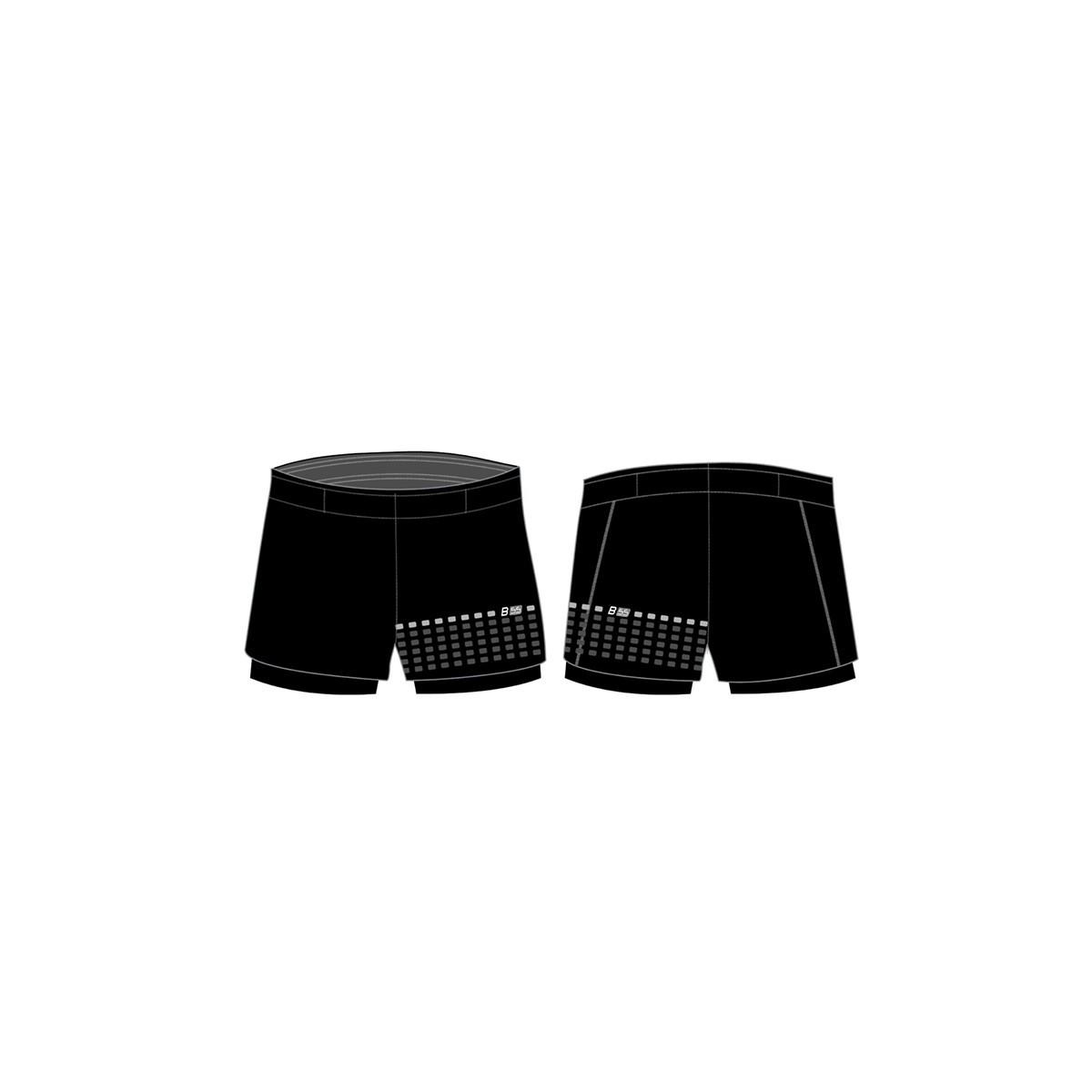 Pantalone trail con calzamaglia interna personalizzato