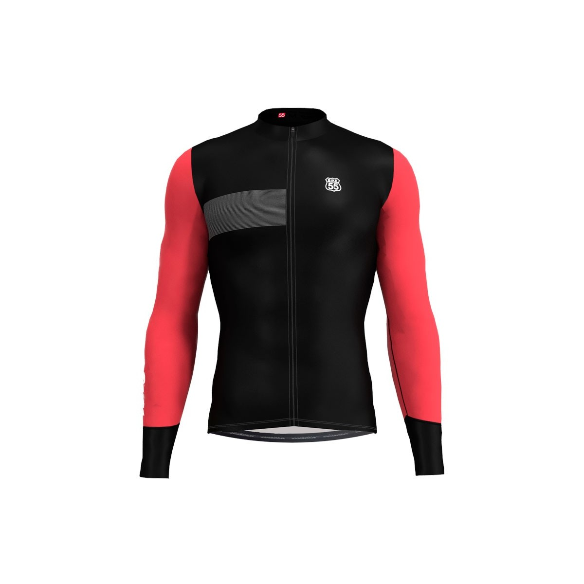 Maillot Largo Black - Coral