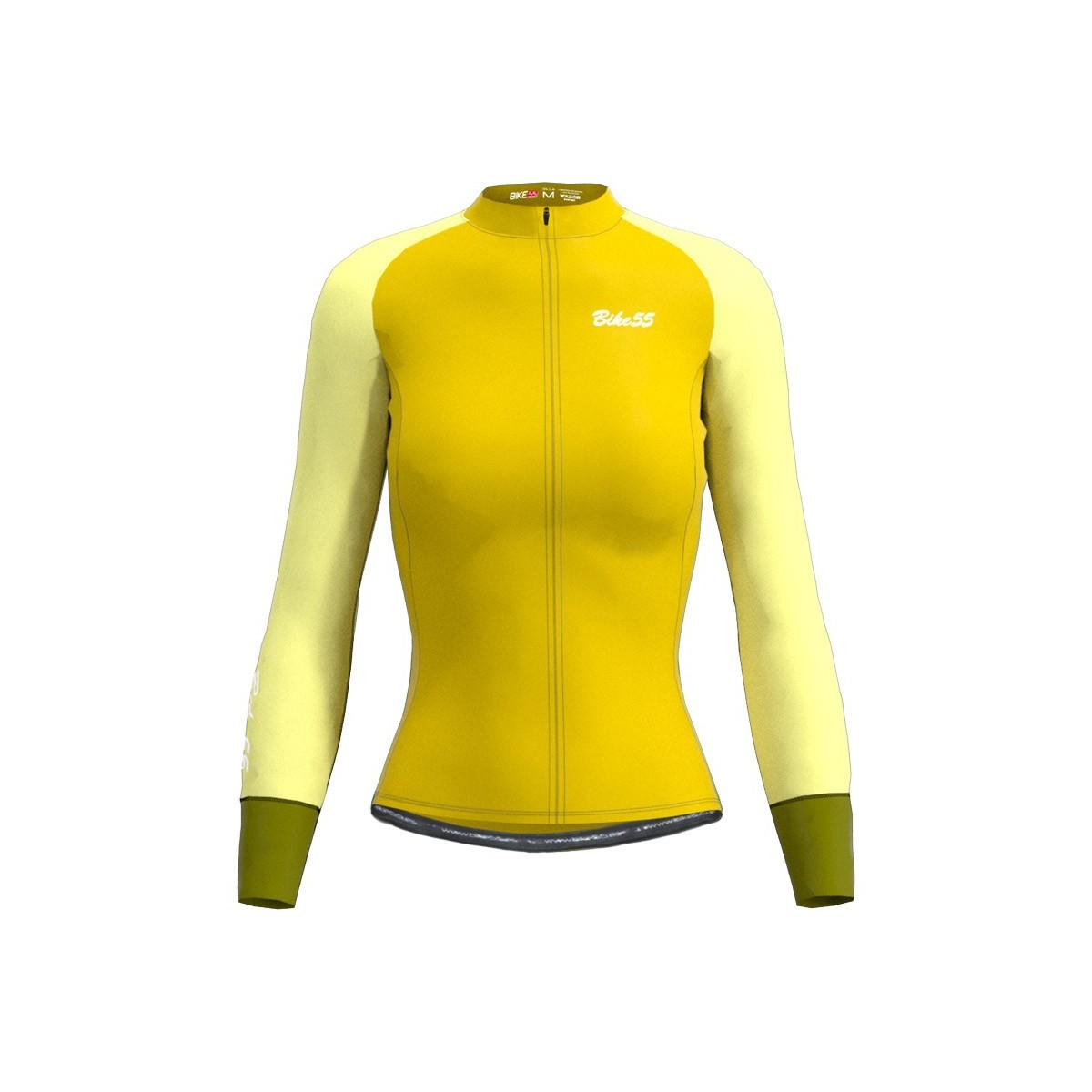 Maillot Largo Smooth ll - Amarillo Mostaza