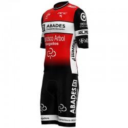 Conjunto Corto Iuvenis Cycling Academy Rojo