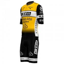 Conjunto Corto Iuvenis Cycling Academy Amarillo