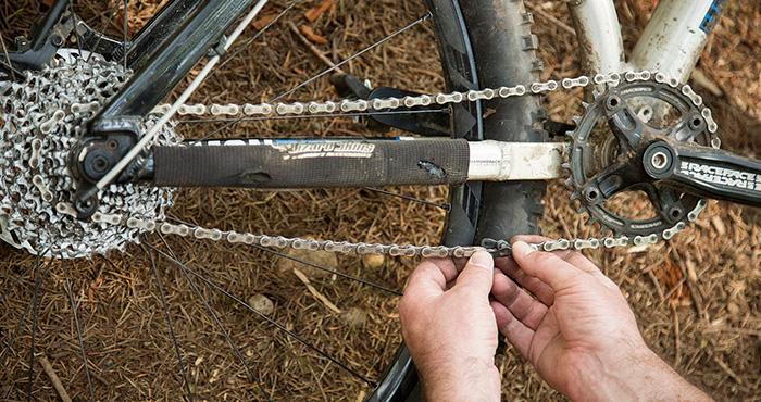 Cambio cadena Bici
