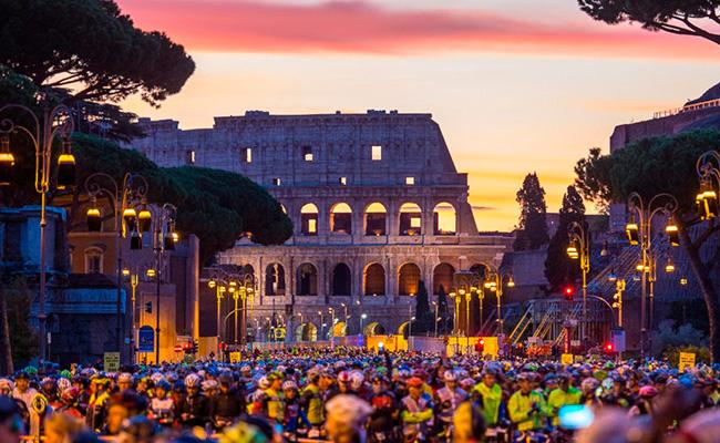 Ruta Roma Granfondo Campagnolo