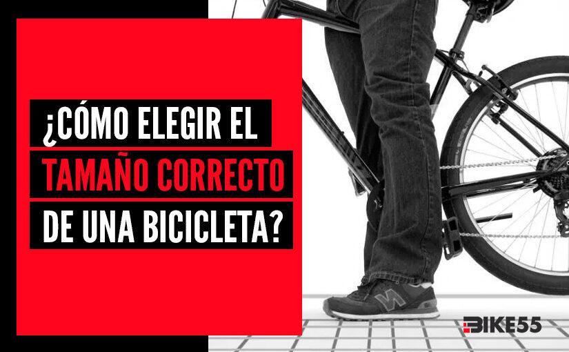 Elegir el tamaño correcto de una bicicleta ¿Cómo se calcula?