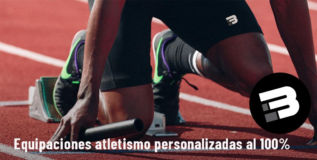 Personalización prendas atletismo
