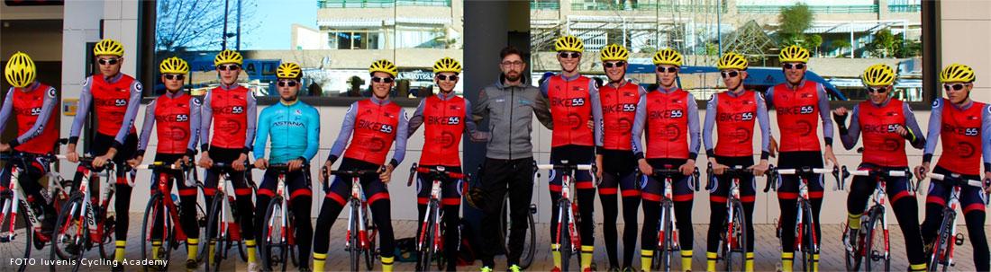 Personalizaciones para equipos. Iuvenis Cycling Accademy